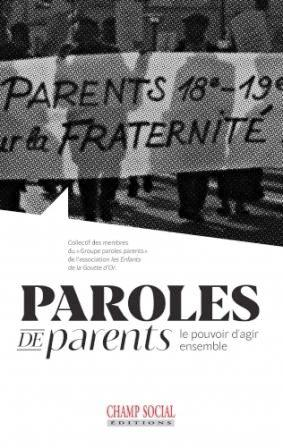 couverture livre paroles parents